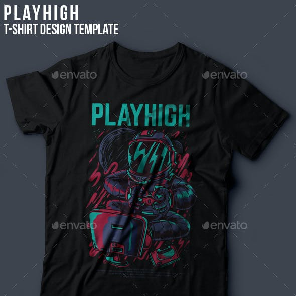 Playhigh T-Shirt Design