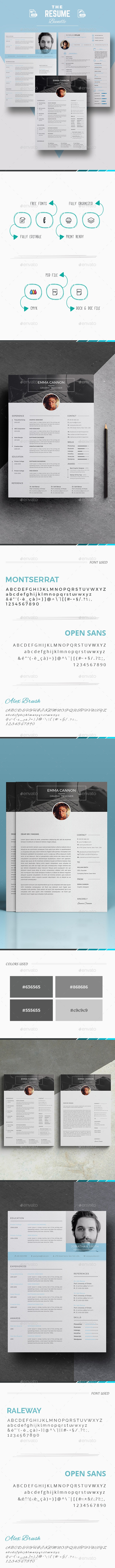 The Bundle Resume Template - Resumes Stationery