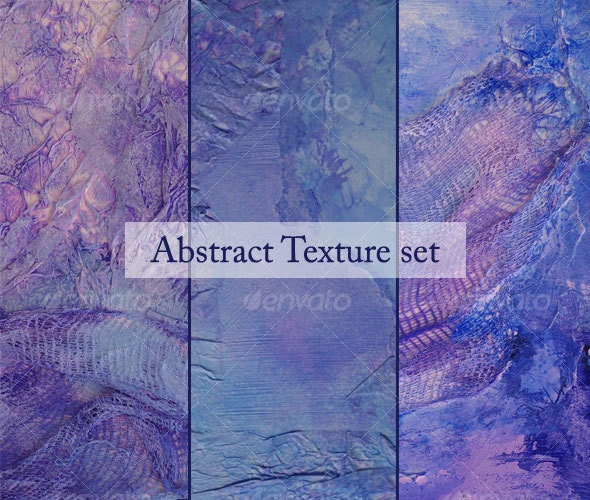 Violet abstract texture set - Art Textures