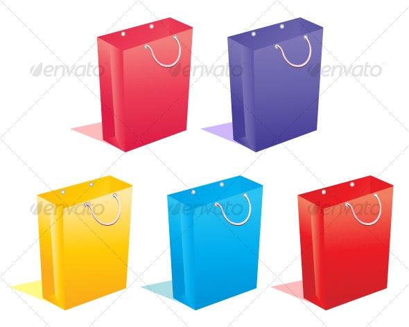 Shopping bags - Commercial / Shopping Conceptual