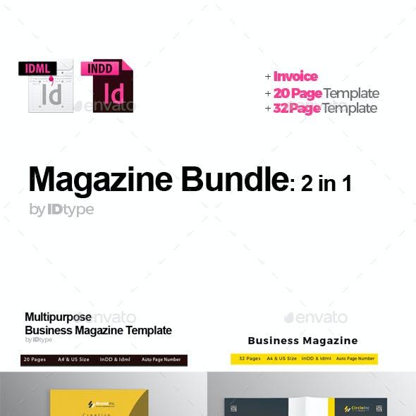 Magazine Bundle: 2 in 1