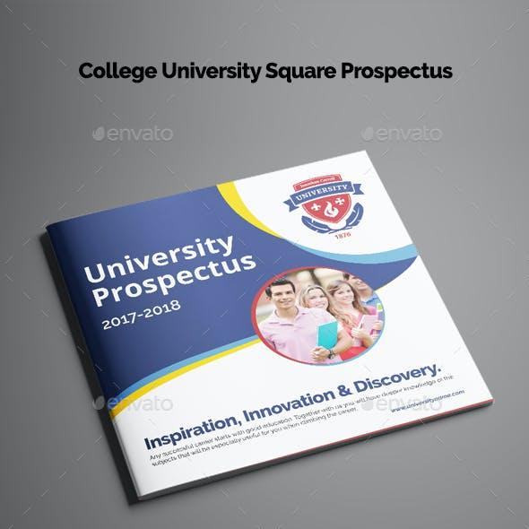 College University Square Prospectus
