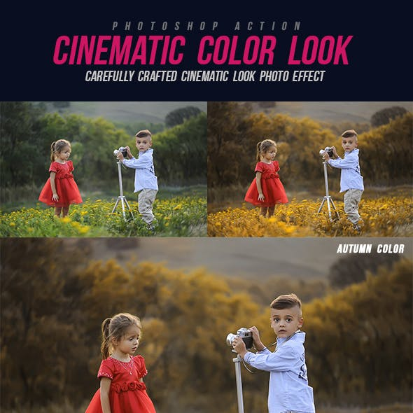 Cinematic Color Look