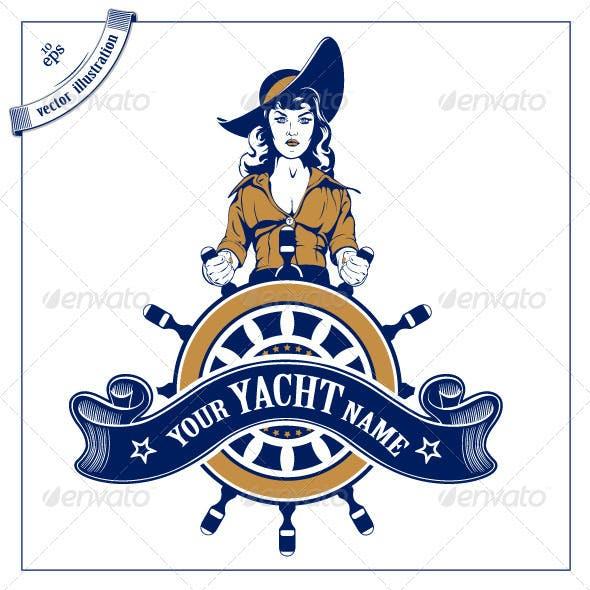 Sailor Woman Emblem