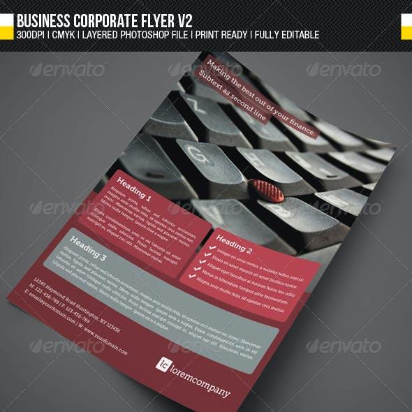 Business Corporate Flyer V2