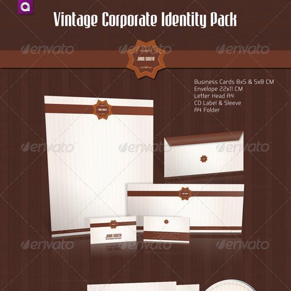 Vintage Corporate Identity Full Pack