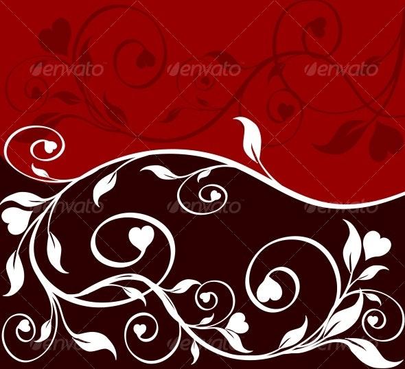 flower  background - Valentines Seasons/Holidays