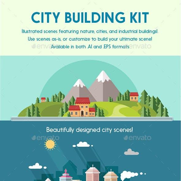 Vector City Building Kit