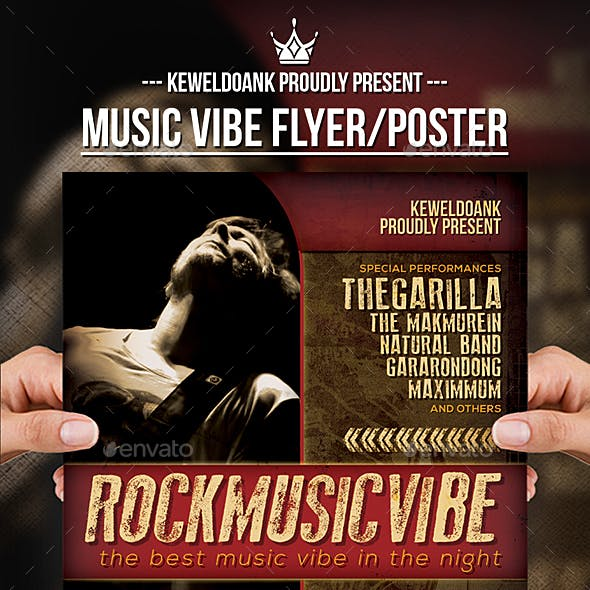 Music Vibe Flyer / Poster