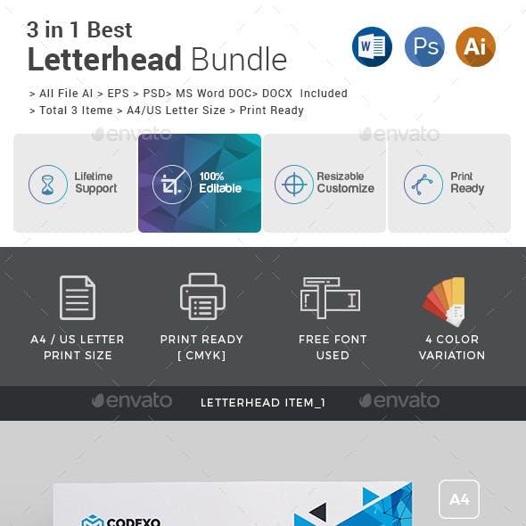 Letterhead Bundle_ 3 in 1