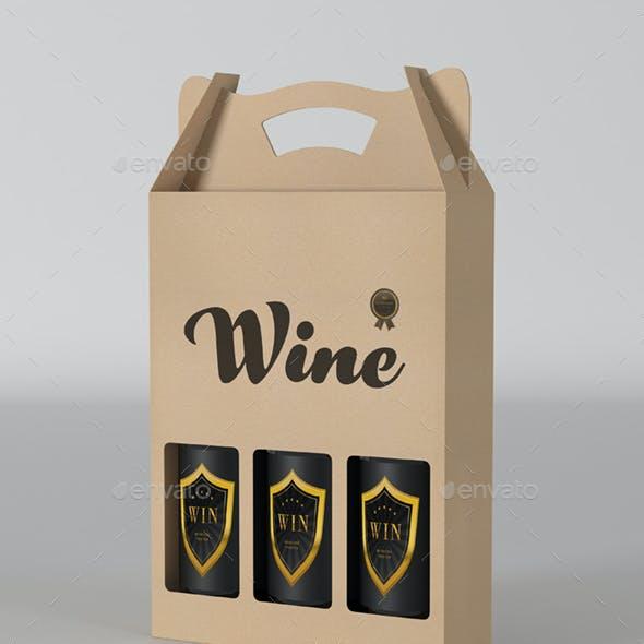 Wine Pack Mockup