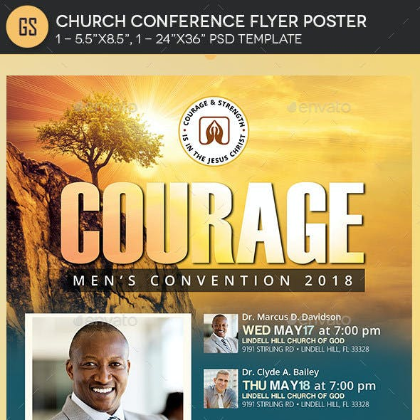 Convention Church Flyer Templates from GraphicRiver (Page 9)
