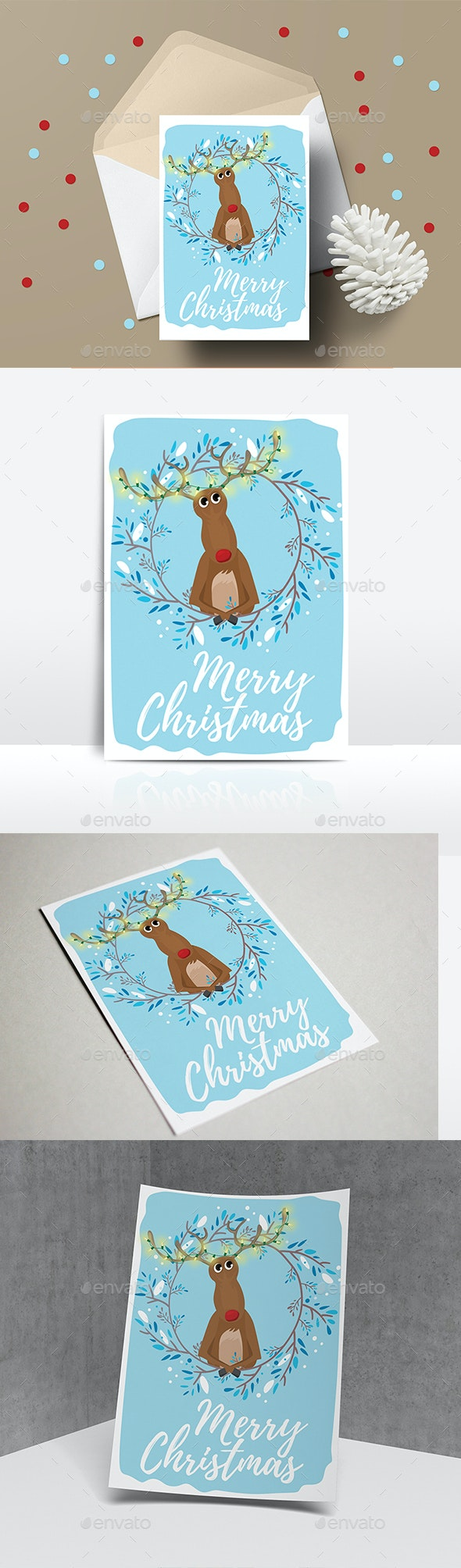 Christmas Card - Christmas Greeting Cards
