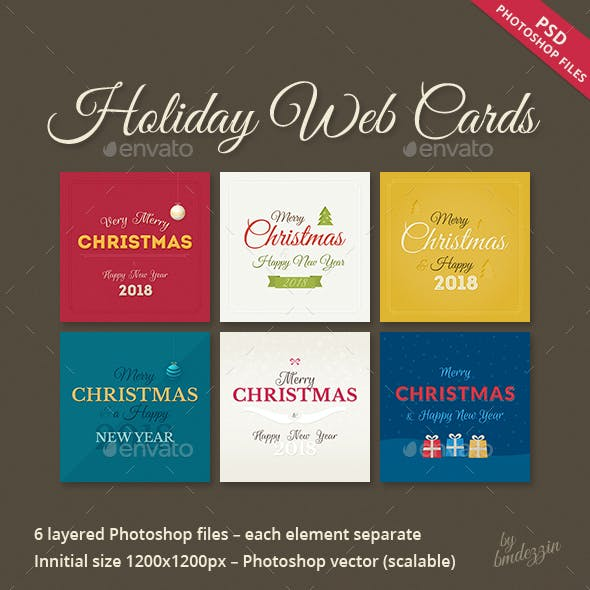 Holiday Web Cards
