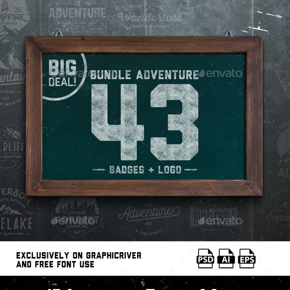 Bundle Adventure 43 Badges & Logo