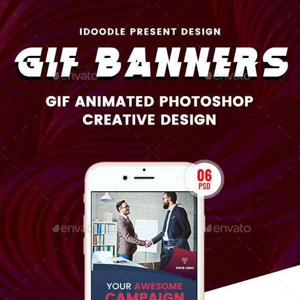 Animated GIF Multipurpose Banner Ad
