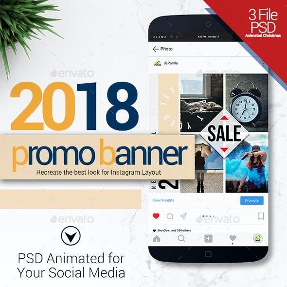 PSD - 2018 Instagram Animated Promo
