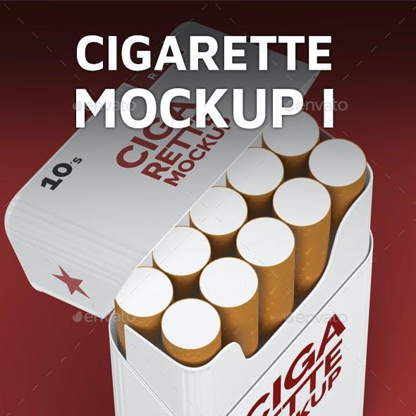 Cigarette Mockup I