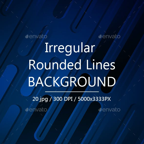 Irregular Rounded Lines Backgrounds