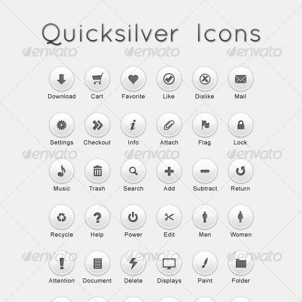 Quicksilver Icons