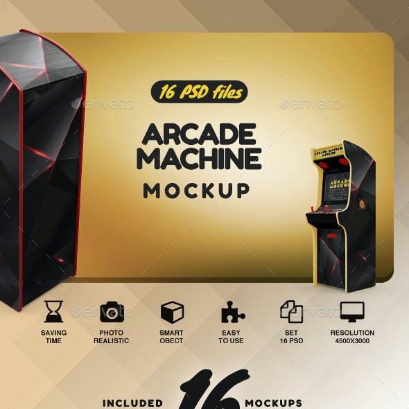 Arcade Machine Mockup
