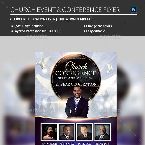 Praise Church Flyer