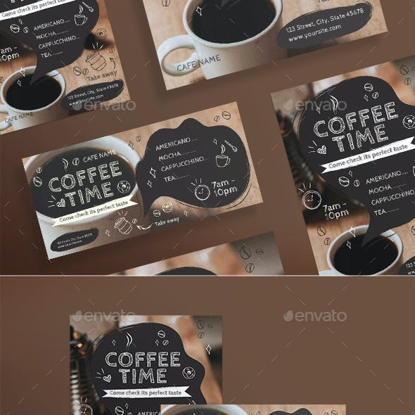 Coffee Time Flyers