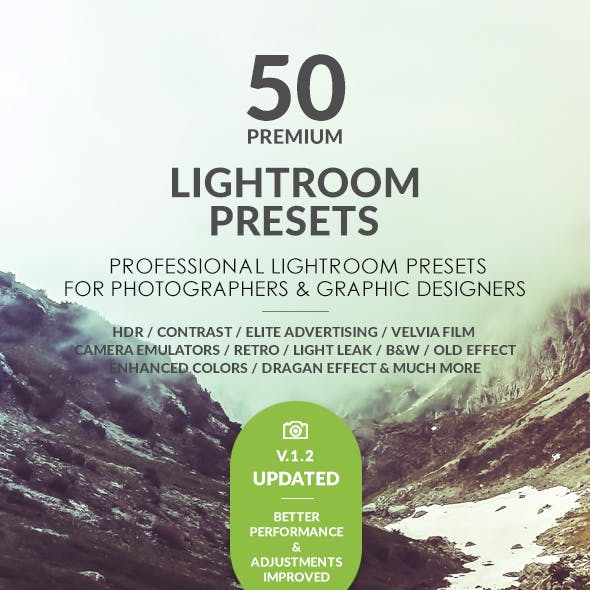 50 premium lightroom presets vol 1 free download
