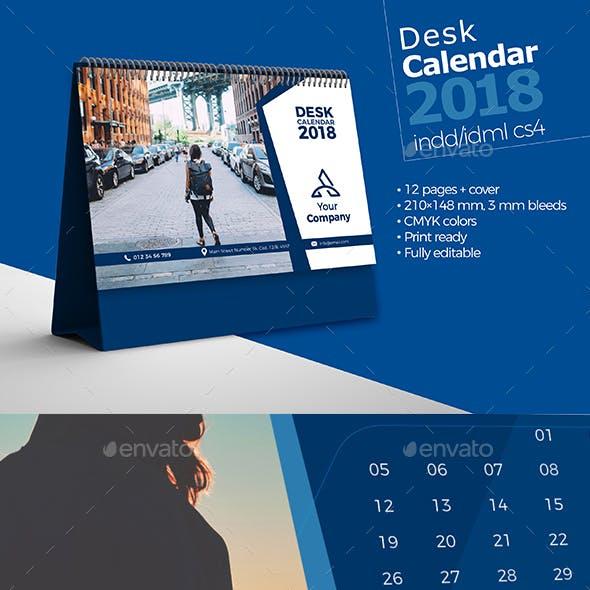 Desk Calendar 2018 Bundle V2