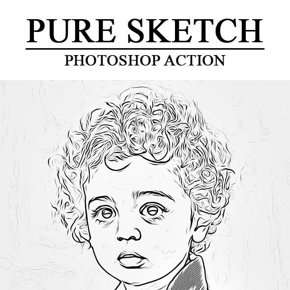 Pure Sketch Photoshop Action