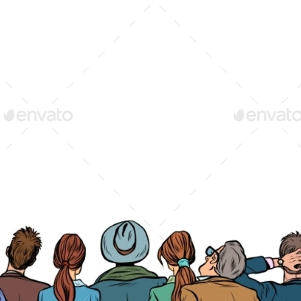 People Audience Background Lecture Back