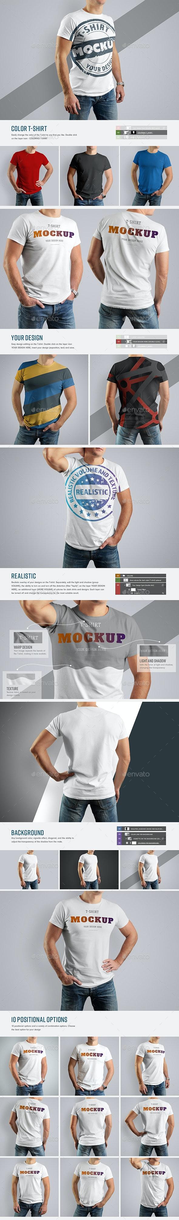 10 Mockup T-Shirt (Updated) - T-shirts Apparel