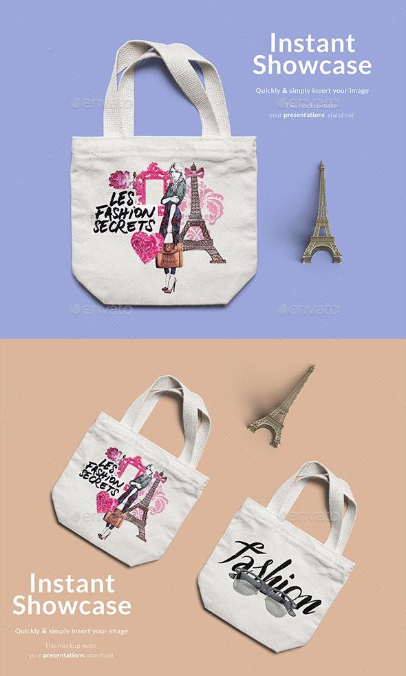 Fashion Bag Mockup - Product Mock-Ups Graphics
