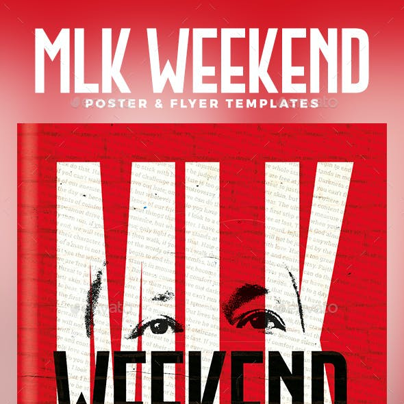 MLK Weekend Party Flyer & Poster