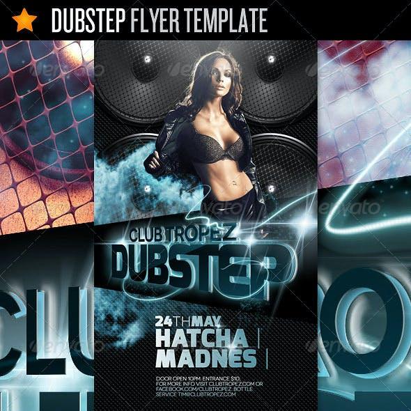 Dubstep - Flyer Template