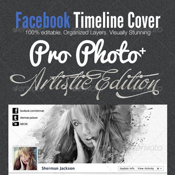 ProPhoto Artistic Facebook Timeline Cover Template