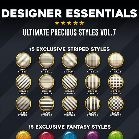 Designer Essentials Ultimate Precious Styles Vol.7