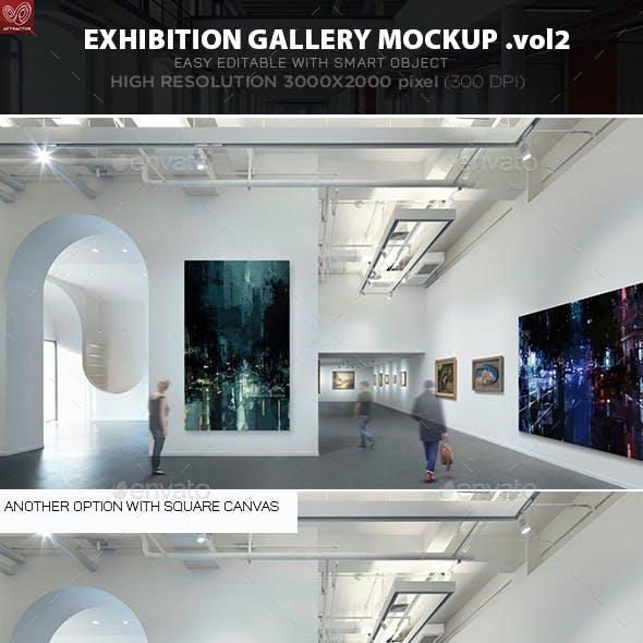 Exhibition Gallery Mockup v.2