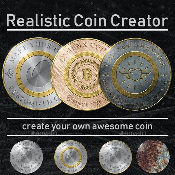 Realistic Coin Creator