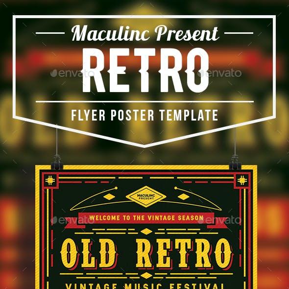 Retro Flyer/Poster Vol.3