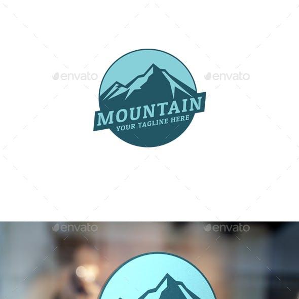 Modern Mountain Logo