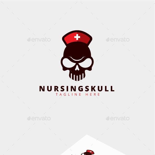Nursing Skull Logo