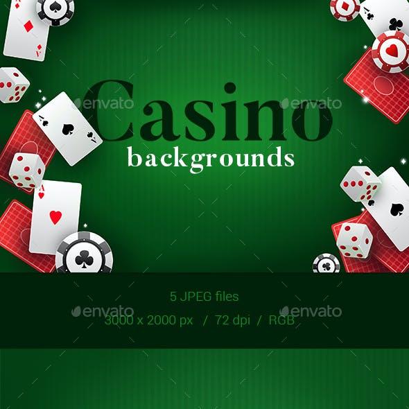 5 Casino Backgrounds