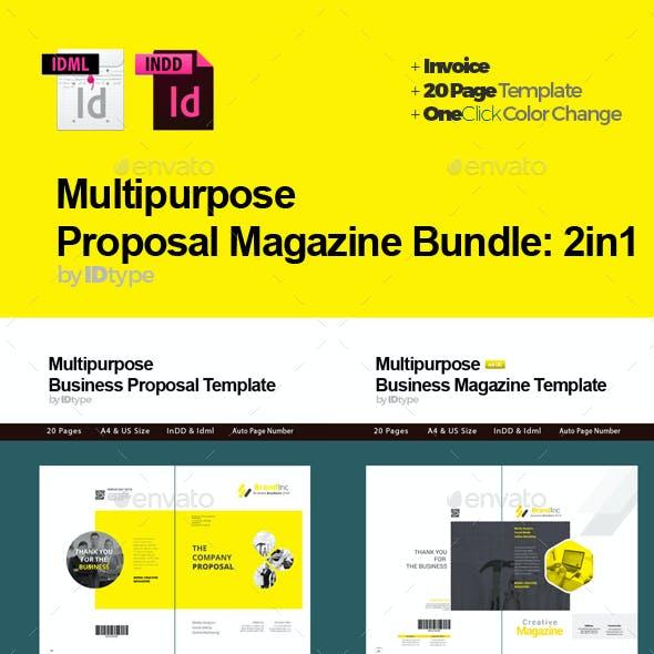 Proposal Magazine Bundle