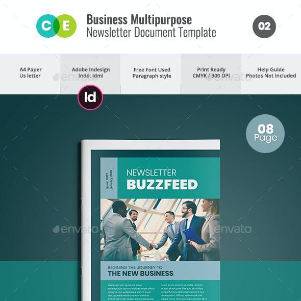Newsletter For Multipurpose Business V02