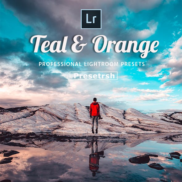 30 Orange and teal - Lightroom Presets