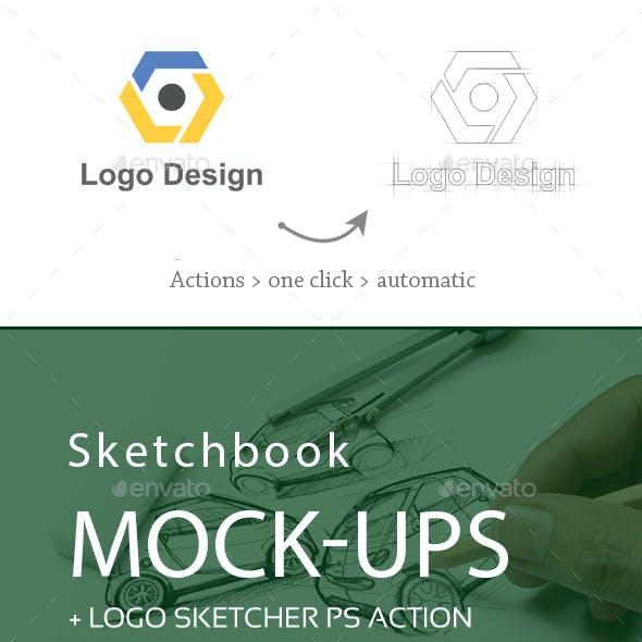 Sketchbook Mock-Ups