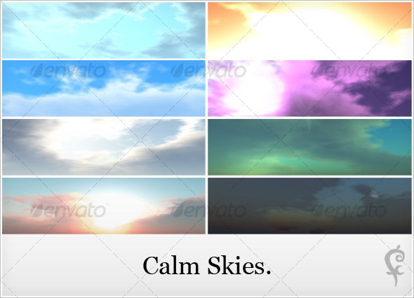 Calm Skies. - Nature Backgrounds