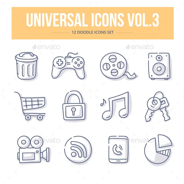 Universal Doodle Icons vol.3