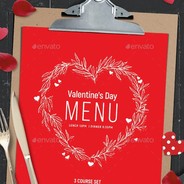 Valentines Menu Vol.2